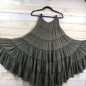 Free People Full Peasant Skirt Size Small